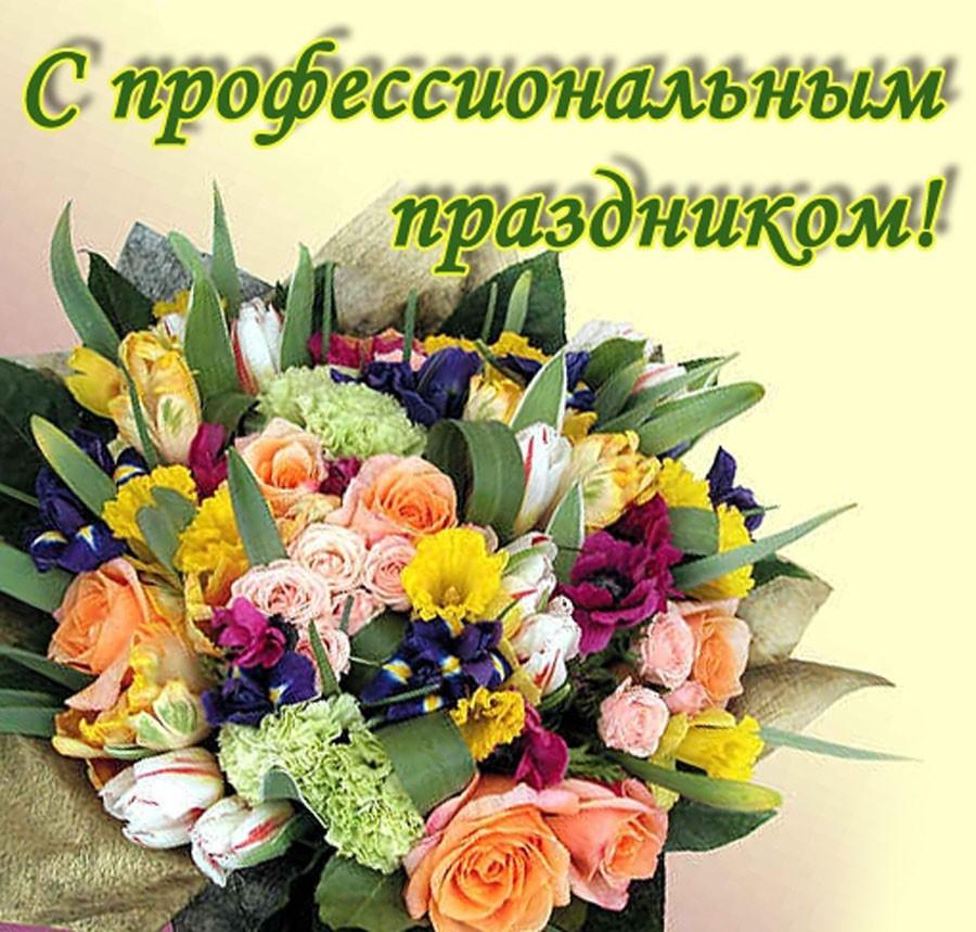 Поздравление с профессиональным праздником